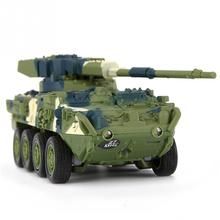 2017 New Arrival RC Tank Car Camouflage Leopard Tanks Children Toys Mini Tank Children Toys Gift(China)