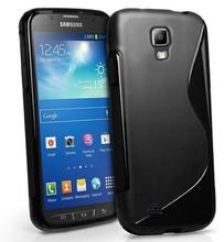 For Samsung Galaxy S4 Active Case GT i9295 E470S i537 S Line Wave Soft TPU Cover