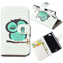 10 Patterns Fashion Flip PU Leather Case For Sony Xperia Arc S LT18i for Sony Ericsson X12 Xperia Arc LT15i Cover Phone Cases