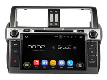 "9"" Android 5.1.1 Car DVD GPS for Toyota Prado 2014 Car Navigation system Radio RDS audio video player WIFI 4G Support OBD DVR"