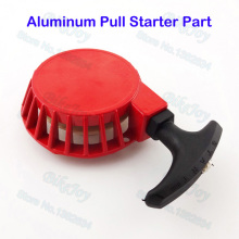 Aluminum Pull Start Starter Red For 47cc 49cc 2 Stroke Pit Dirt Pocket Mini Motor Bike ATV Quad Motocross Motorcycle