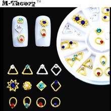 M-theory Mixed Ruby Rings Nails Rhinestones DIY 3D Nails Arts Polish Nail Gel varnish Manicure Decorations Makeup Tools