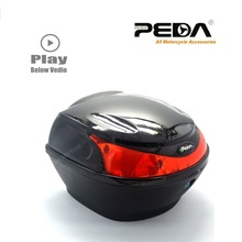 2017 e Bike box Electric Scooter Trunk Motorcycle Top Case ABS One Helmet Hard Tail Box Luggage case Baul Motocicleta Bauletto