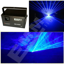 Moving Head Laser one Lens blue Color DMX Control for Disco Club Demo(China)