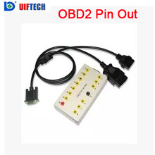 Very cheap shipping ,OBD2 Pin Out Box-C014+12months warranty(China)