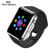 2017 hot Wrist Watch Bluetooth Smart Watch Sport Pedometer With SIM Camera Smar twatch For Android Smartphone Russia A1/W8