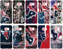 Lot houston texans Painting plastic Hard Cover For Samsung Galaxy S2 S3 S4 S5 Mini S6 S7 Edge Plus Note 2 3 4 5 Mobile Cell Case(China)