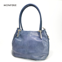 MONFERE Casual Tote Bag women bag soft crocodile TOP-HANDLE BAGS Wine Red side zipper DESIGNER shoulder handbags crossbody bags(China)