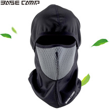 Winter Cycle Fleece Masks Cap Activated Carbon Mask hood Ski Mask Scarf Outdoor Sports Bike Hat BASECAMP(China)