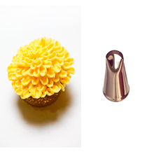 #CP11  Chrysanthemum Stainless Steel Icing Piping Nozzles Pastry Tips Fondant Cup Cake Baking Tools