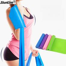 1.5m Resistance Bands Set 2 TPR Exercise Bands Elastic Yoga Stretch Band Fitness Workout Bands Improving Mobility Rehabilitation(China)