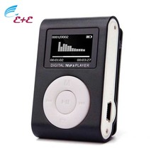 2017 New Original Mp3 Music Player Mini USB Clip MP3 Player LCD Screen Support 32GB Micro SD TF Card USB 2.0/1.1 High Quality(China)
