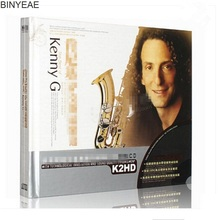 BINYEAE- new CD seal: Kenny Saxophone blues jazz light pure music vinyl fever car K2HD 2CD disc [free shipping](China)