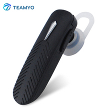 Teamyo Bluetooth Headset Mini Stereo Sport Wireless Earphone with Mic Hands Free Stereo Music for Samsung Xiaomi Tablet PC MP3(China)