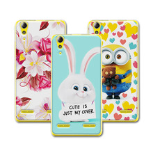 Buy Cute Cartoon Case Coque Lenovo 6000 Lemon K3 K30-T Colorful Mermaid Printing Back Cover Funda Lenovo A6000 Case Capa for $1.48 in AliExpress store