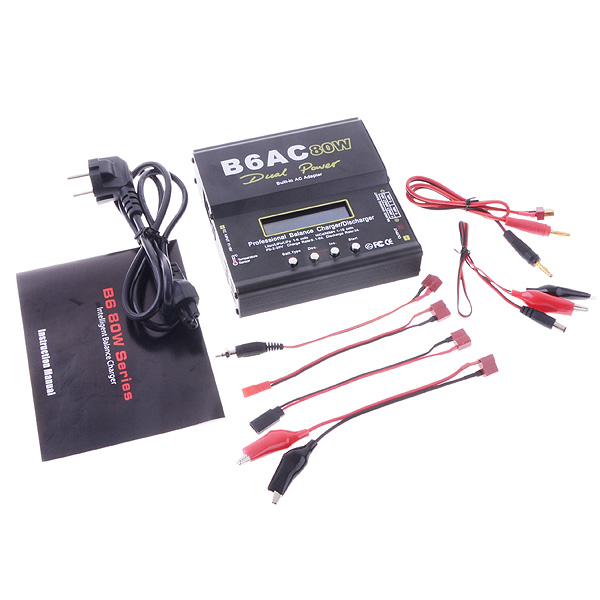 IMAX Upgraded B6AC 80W Multi Functional Smart Balance Charger Discharger<br>