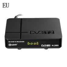 ONLENY Black High Definition Digital Terrestrial HDMI 1080P DVB-T/T2 Protocol H.265 TV Box VGA AV Tuner Receiver