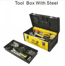 BESTIR taiwan original excellent quality cold-rolled steel and newest engine plastic 2 layer tool box NO.05172 wholesale(China)