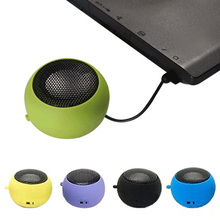2017 Fashion 3.5mm Portable Speaker Stereo Mini Speaker Music For Phone Tablet New