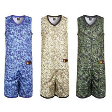 Hot Sale New Arrival Camouflage Random Name  Custom Mens Basketball Jerseys  Anti-Shrink Very Good Quality Size XL-5XL