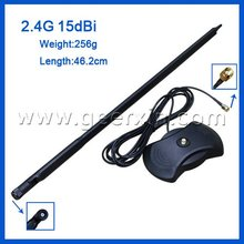 2.4G 20dbi wifi router antenna with 3M RP-SMA cable