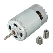 DC Motor 12V 30000 RPM for Children Electric Car,RC Ride, Baby Car Electric Motor RS550 Gearbox 10 teeth Engine Best