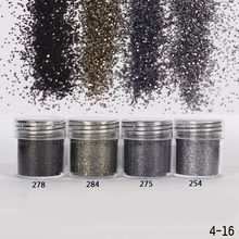 1Pc Nail Glitter 10ml Gradient Ultra-thin Silver Bronze Grey Nail Glitter Powder Laser Sequins Tips Manicure Nail Art Decor