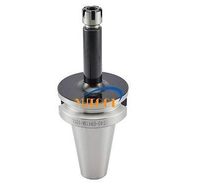 New Precision BT40 ER11M 100L Precision : 0.005mm  balance 12,000rpm Collet chuck holder CNC Milling Lathe BT40 spindle<br>