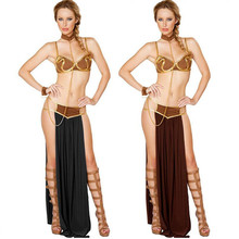 2017 New Sexy Egypt Goddess Costume Arab Long Dress For Adults Women Lady Prom Ball Halloween Party Fancy Dress Decoration