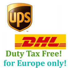 The link for Europe buyer to pay Extra fee for Ship by UPS or DHL with Duty free 3kg box(Hong Kong)