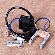 New Ignition Coil + Magneto Stator coil + Spark Plug Fit for 49cc 50cc 60cc 80cc 2 Stroke Engine Motor Motorized Bicycle Bike