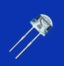 100PCS/LOT  LED light emitting diode strawhat 5MM luminous tube white blue hat. led diode