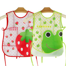 Baby & Kids Cute Cartoon EVA Bibs Waterproof Children Feeding Care Burp Clothes Boys Girls Cartoon Pattern apron Bib