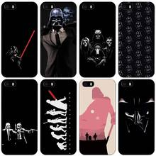 Darth Vader Star Wars Black Plastic Case Cover Shell for iPhone Apple 4 4s 5 5s SE 5c 6 6s 7 Plus