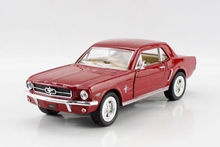 1PC 12.5cm Kinsmart alloy car  model Ford 1964 Mustang car Children's toys