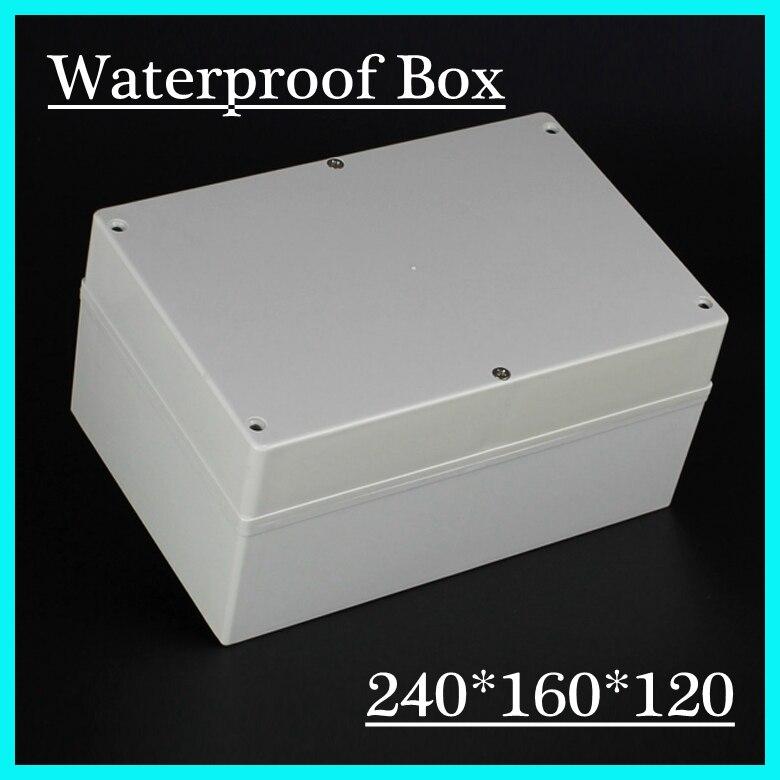 Junction box weatherproof box ip68 quality plastic waterproof enclosure 240*160*120mm<br>