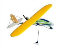 Gratis Verzending Magic Board Hot Drukken PP Vliegtuig Grappige Park KIT (ONGEMONTEERD) 780mm Training RC MODEL HOBBY TOY HOT VERKOOP VLIEGTUIG(China)