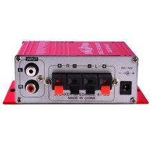 20W Hifi Mini Digital Amplificador Motorcycle Auto Car Stereo Power Amplifier Sound Mode Audio Support DVD MP3 For Home