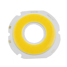18W Ultra Bright Round COB LED Warm  White Power Light Lamp source Chips Diy DC 18-21v 800MA 3 years Integrated Circular COB