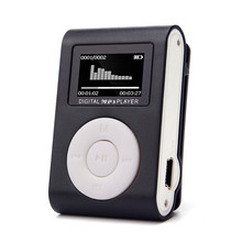 2017 USB LCD Screen Slim Mini Clip MP3 Music Player Support 32GB Micro SD TF Card electronica #MA24(China)