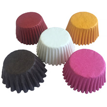 500&1000 pcs 3 size Color Cupcake Liner Baking Cups Cupcake Mold Paper Muffin Cases Cake Decorating Tools E135