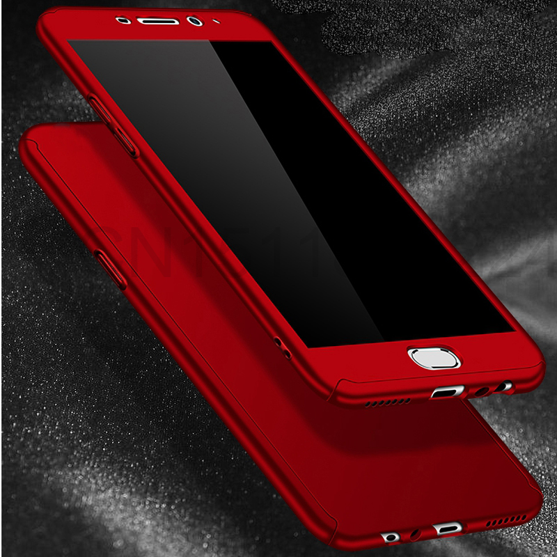 360 Full Case For Meizu Pro 7 Cases Hard PC Degree For Meizu  M6 Note M6 M5 Note  M6s Cover + Tempered Glass A5