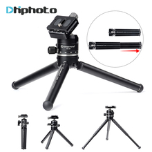 Height-adjustable Pod Pocket Tripod, SUNWAYFOTO T1A20D-T Mini Tabletop Compact Camera Tripod with Ball Head for DSLR SLR Cameras(China)