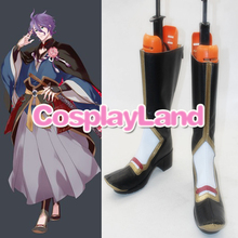 Customize Boots The Sword Dance Touken Ranbu Kasen Kanesada Cosplay Boots Shoes Cosplay Costume Halloween Party Cosplay Shoes