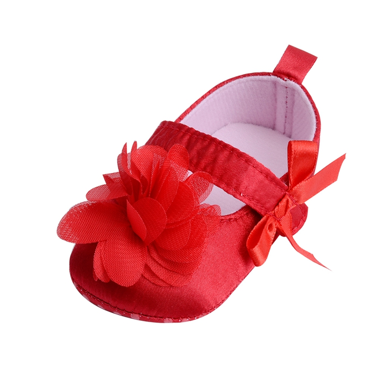 Flower Spring / Autumn Infant Baby Shoes Moccasins Newborn Girls Booties for Newborn 3 Color Available 0-18 Months 15