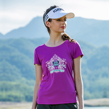Outdoor T Shirt Women Hiking T-shirt Gym Running Short Sleeve Dry Fit T-shirts Fishing Clothes Mountain Sportwear Breathable