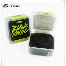 Black Magic Wicking Cotton For RDA RBA Atomizer Coil Wick DIY E-Cigarette Heat Wire Activated Carbon Cotton