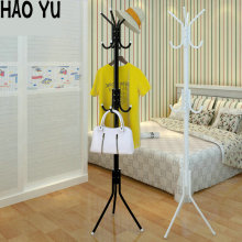2017 new fashion simple bedroom coat racks floor clothes hanging hanger fashion creative iron shelves