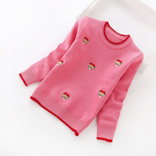 2016 new children's sweaters 2-8 years girls' sweaters cotton sweaters  8027