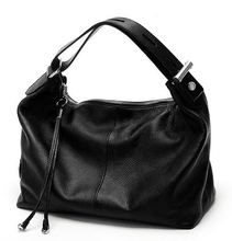 HOT SALE! FAST Shipping! OL Style women Natural leather handbag 100% Soft Real Genuine Cow Leather Lady Women's Handbag tote bag